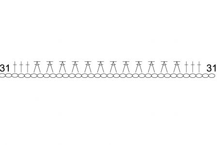 как связать пинетки крючком 5