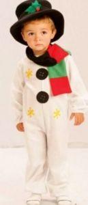 костюм снеговика своими руками 1