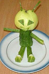 поделка инопланетянин 15