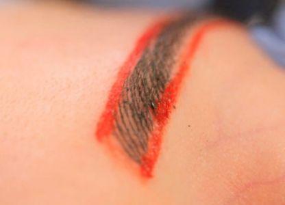 Как делать татуаж бровей
