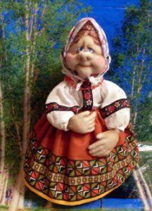 Куклы из колготок мастер класc фото 30