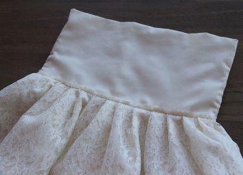 Кружевное платье своими руками10