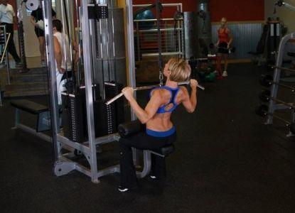 Широчайшие мышцы спины упражнения