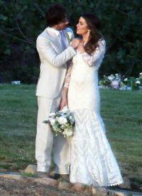 фото папарацци со свадьбы Йена Сомерхолдера и Никки Рид