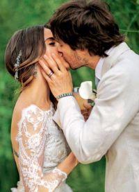 свадьба Йена Сомерхолдера и Никки Рид состоялась 26 апреля 2015 года