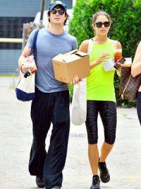 Никки и Йен во время шоппинга
