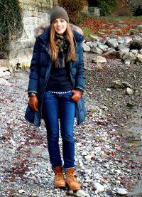 с чем носить женские ботинки тимберленд1
