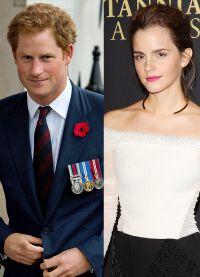 Принц Гарри и Эмма Уотсон встречаются