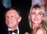 Хью Хефнер и вторая жена Кимберли Конрад