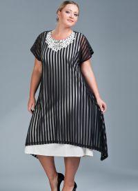 платье балахон3