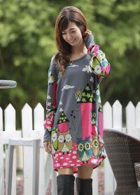 платье балахон6