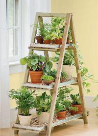 деревянные этажерки для дома13