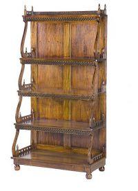деревянные этажерки для дома6