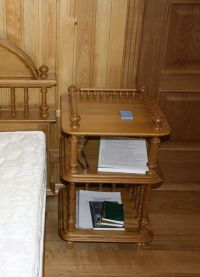 деревянные этажерки для дома7