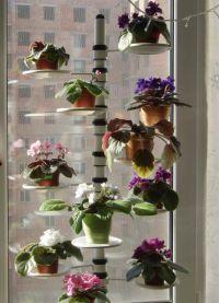 Полки для цветов на подоконник1