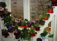 Полки для цветов на подоконник5