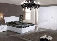 Hvidt soveværelse sæt