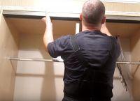 Шкаф для коридора своими руками33