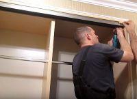 Шкаф для коридора своими руками35
