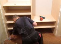 Шкаф для коридора своими руками37