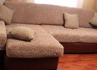 Покрывало на угловой диван1