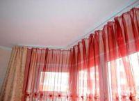 Угловые карнизы для штор в комнату