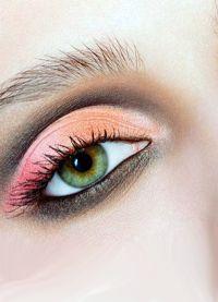 дневной макияж для каре зеленых глаз 4