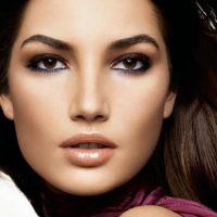 Красивый легкий макияж для карих глаз
