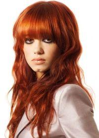 Рыжие волосы и серые глаза