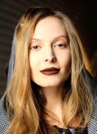 макияж с коричневой помадой 4