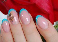 идеи маникюра шеллаком на короткие ногти 3