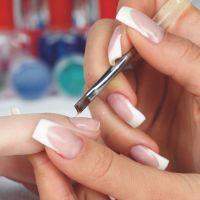Гелевое наращивание ногтей дизайн