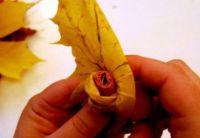 Осенний букет своими руками для детского сада 17