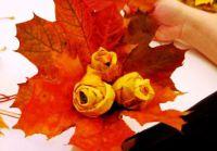 Осенний букет своими руками для детского сада 23