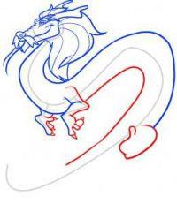 как нарисовать дракона 37