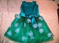 новогоднее платье для девочки своими руками 36