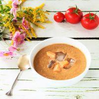 Томатный суп из свежих помидоров – рецепт