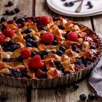 Песочное тесто для пирога с ягодами – рецепт
