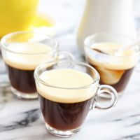 Как сделать молочное желе с кофе