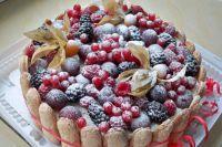 Как желировать фрукты для торта