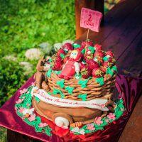 Как украсить детские торты