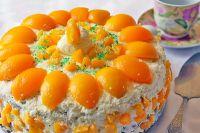 как украсить торт фруктами в домашних условиях 1