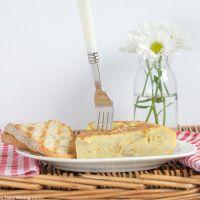 Испанская картофельная тортилья де патата классический рецепт