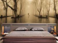 5. Дизайн спальни с фотообоями