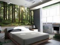 9. Дизайн спальни с фотообоями