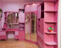 детская корпусная мебель для девочки1