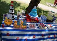 День рождения в морском стиле2