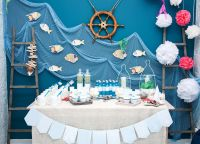 День рождения в морском стиле3