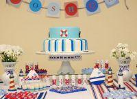 День рождения в морском стиле8