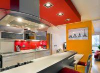 Кухня-гостиная с барной стойкой 2